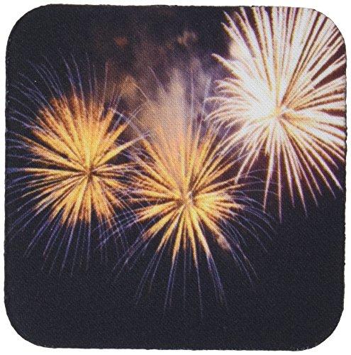 3dRose CST_46996_2 Fireworks Fireworks, Golden Fireworks, New Year,