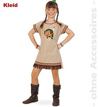 Fries 1916 Indianerin Lani Kleid Madchen Kostum Fasching Karneval