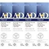A+D Zinc Oxide Diaper Rash Treatment Cream, Dimenthicone 1%, Zinc Oxide 10%, Easy Spreading Baby Skin Care, 4 Ounce Tube (Pac