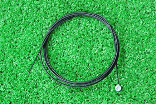 [해외] 더구와이어(Jagwire)  테프론 코팅 MTB브레이크용 이너 케이블  스테인레스 브레이크 와이어Φ1.6*1100mm 1개 블랙