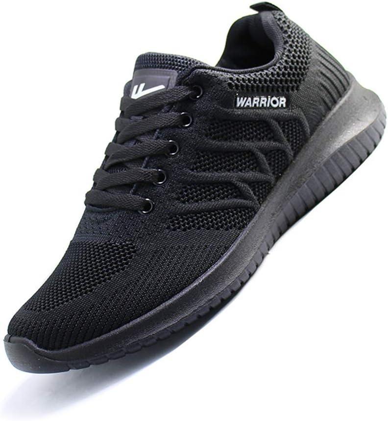 FengWenJing - Zapatillas de Running para Hombre Negro Negro 41 ...
