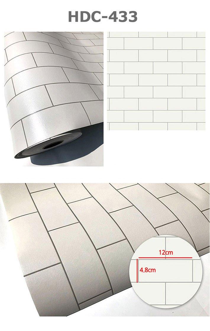 直送商品 壁紙 幅50cm 15m単位 レンガタイル柄の貼ってはがせるのり付き壁紙シール シール はがせる 壁紙 シール B07dpksk6c リメイクシート 壁紙 Verificacion Doshermanas Es