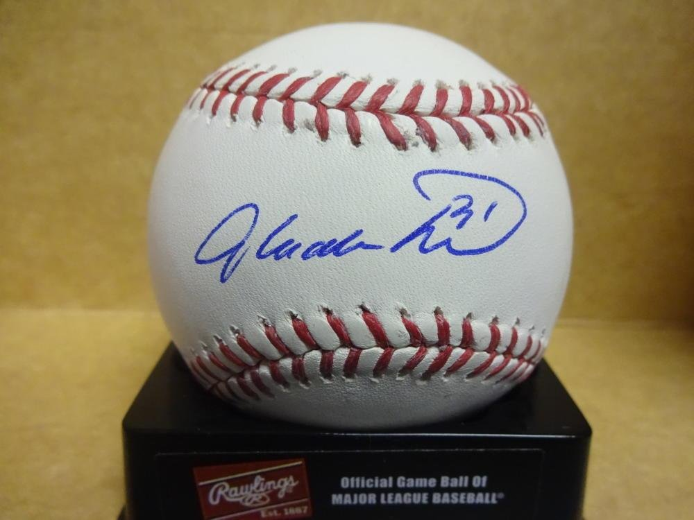 Glen Allen Hill Cubs Giants Yankees Rockies Signed M.l. Baseball W coa  Autographed Baseballs