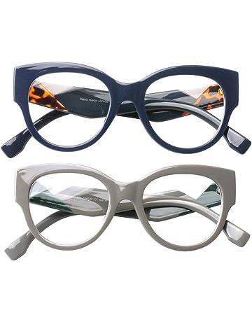 de3617966a7527 SOOLALA Ladies Modern Fashion Prescription Eyeglass Frame Cat Eye Reading  Glass