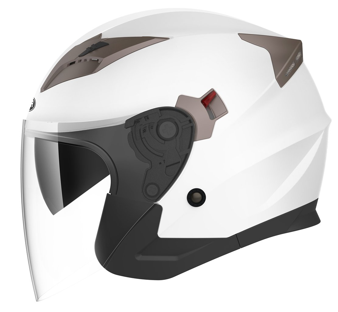 Yema YM-627 Motorcycle Open Face Half Helmet