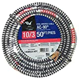 50 ft. 10/3 BX/AC-90 Armored Electrical Cable