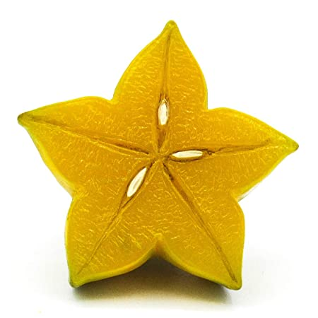 The Smuggled Goods Estrella de Apple Pintado a Mano 3D Resina de ...