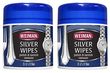 5d0a4298f518b Amazon.com: Silver Wipes - Jewelry Wipes - Cleaner and Polisher for ...