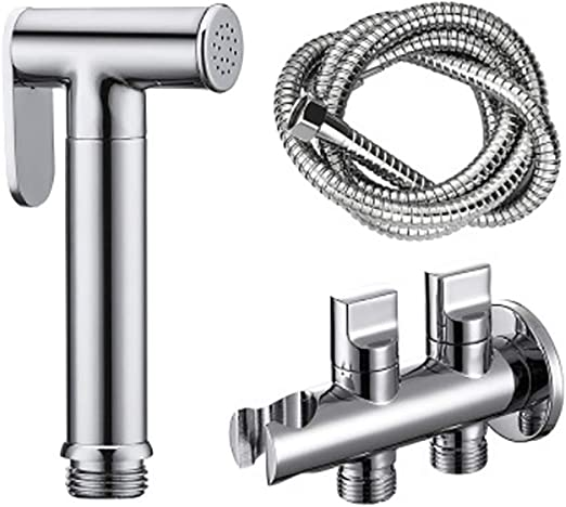 Stainless Steel Bathroom Bidet Ducha Shower Toilet Douchette Wc Hand Held Bidet Douche Shattaf Spray Handheld Bidet Sprayer Toilet Spray Amazon Ca Home Kitchen