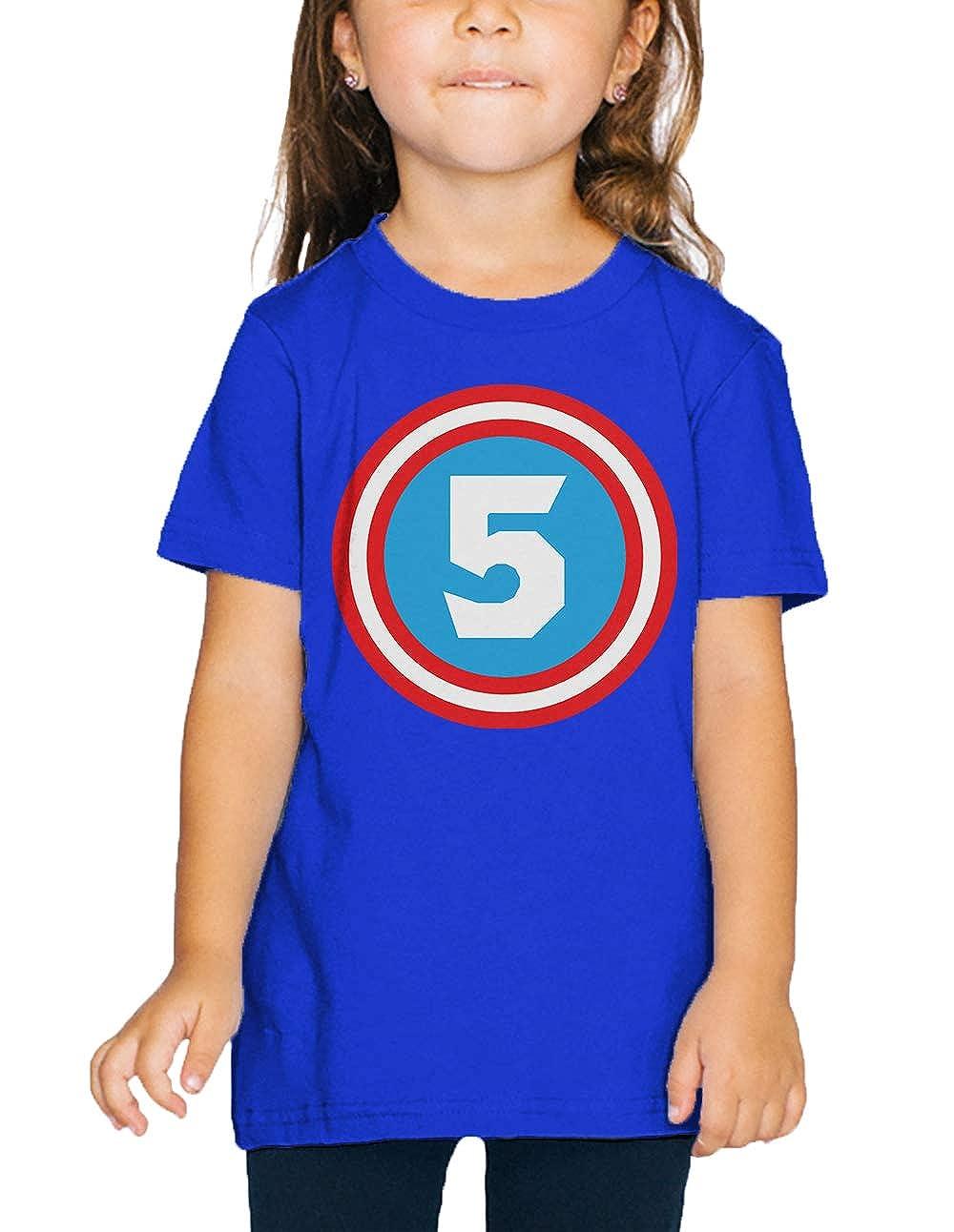 SpiritForged Apparel Superhero Five Year Old Toddler T-Shirt