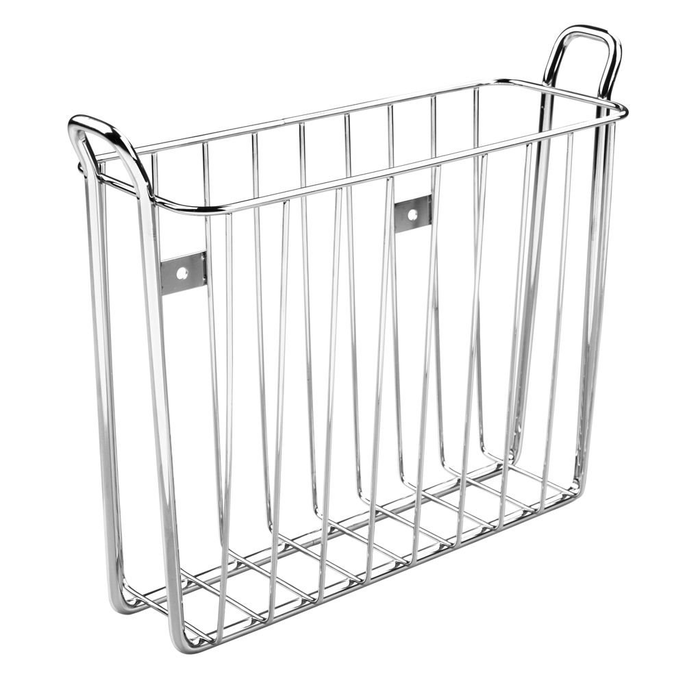 Interdesign Classico Wall Mount Newspaper And Magazine Rack For Bathroom Ch