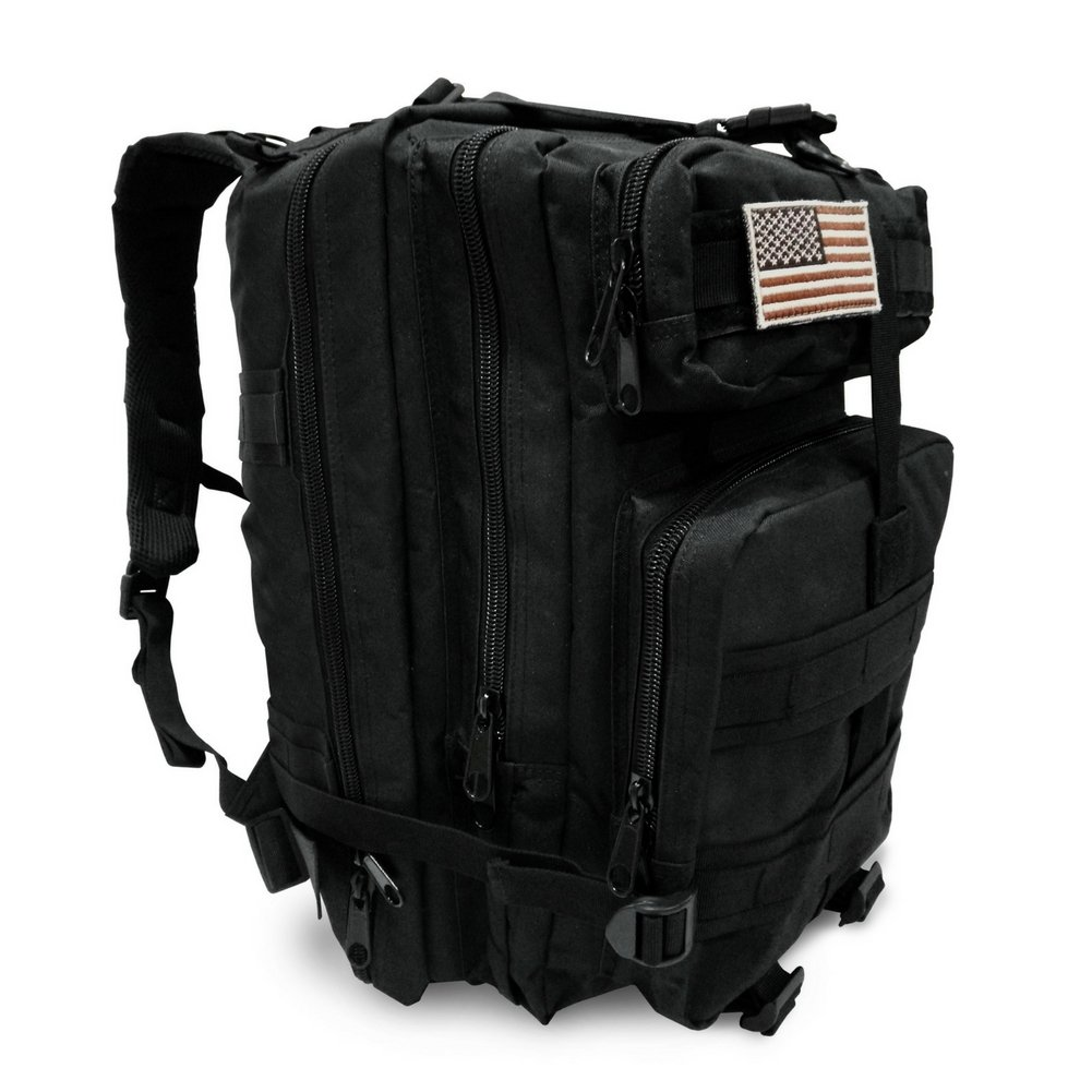 Military Tactical Backpack, Large Outdoor Rucksack for 3 Day Assault Pack Army Molle Bug Out Bag 40 L by Tacticca (Image #1)