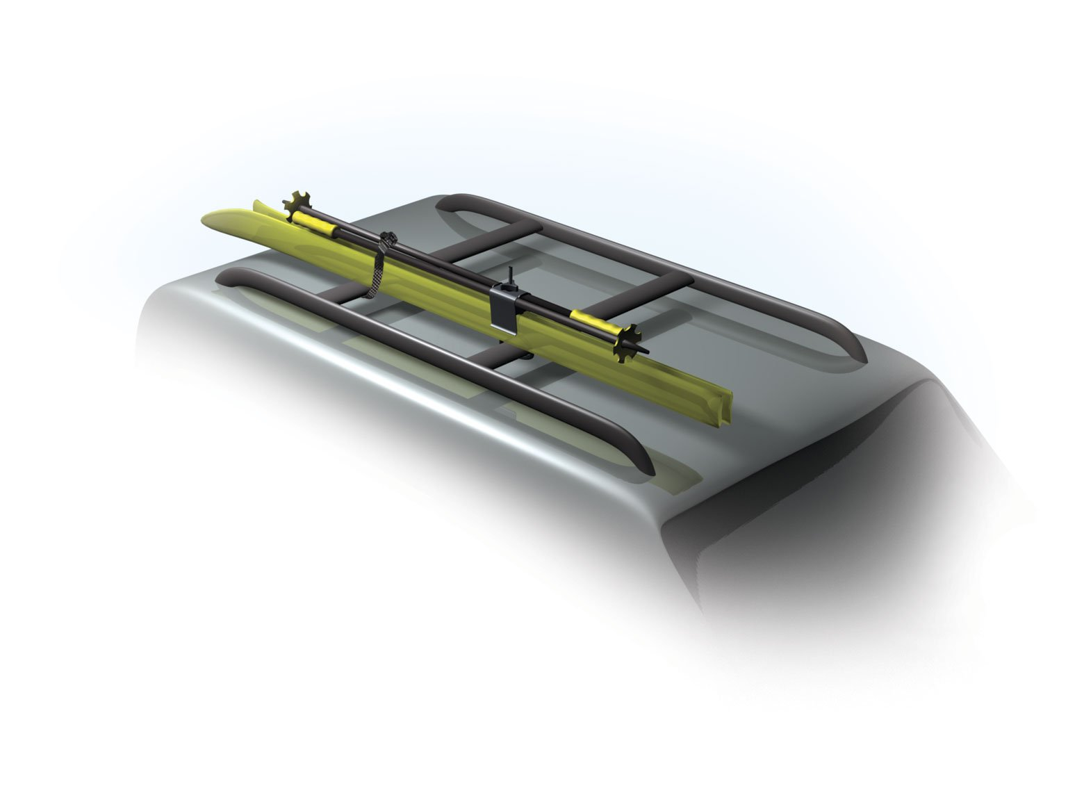 Structured Solutions Raxstars Compact Universal Ski Carrier by Structured Solutions LLC