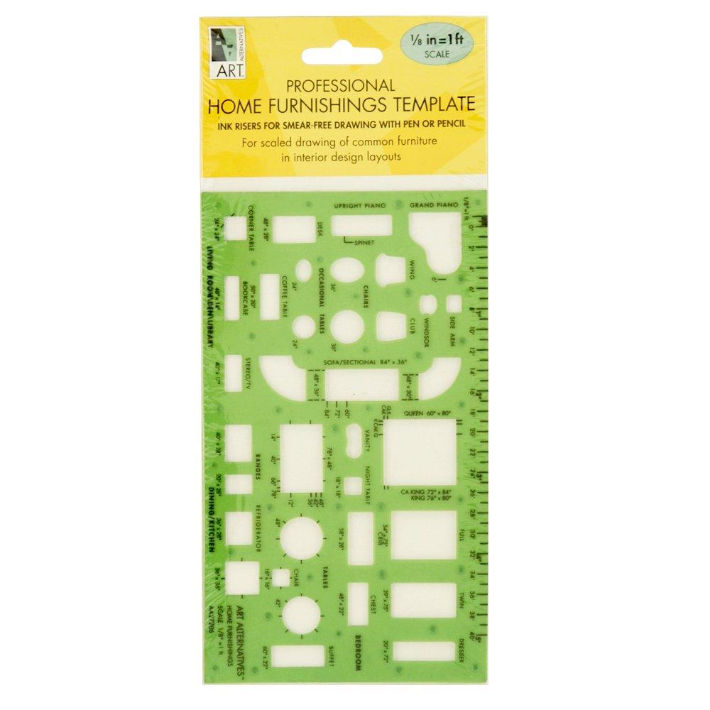 Art Alternatives Professional Home Furnishing Template 1 /8, Green