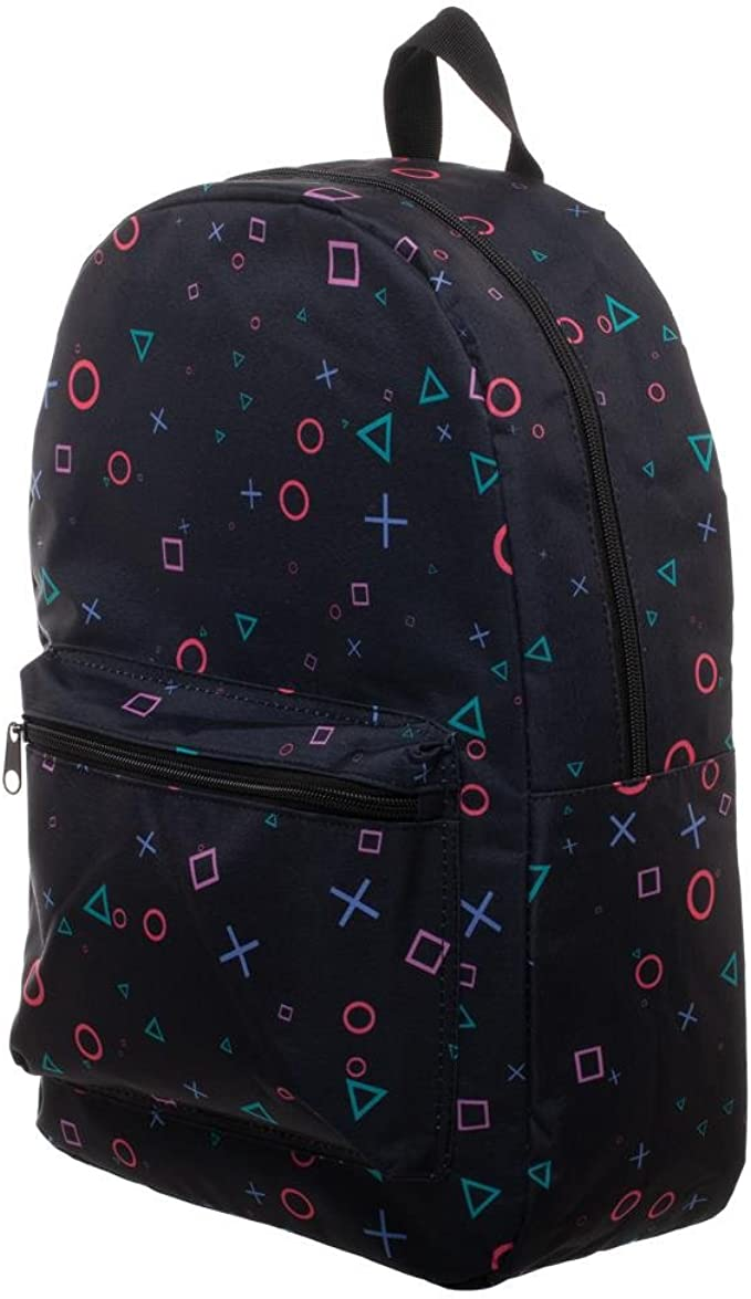 Playstation Print Playstation Button Sublimated Backpack