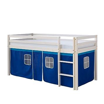 Homestyle4u Hochbett Kinderbett Kinder Kinderhochbett Spielbett ...