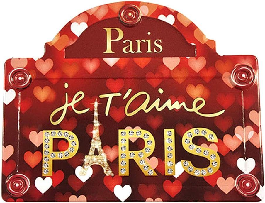 Souvenirs de France Magnet M/étal Plaque de Rue Tour Eiffel