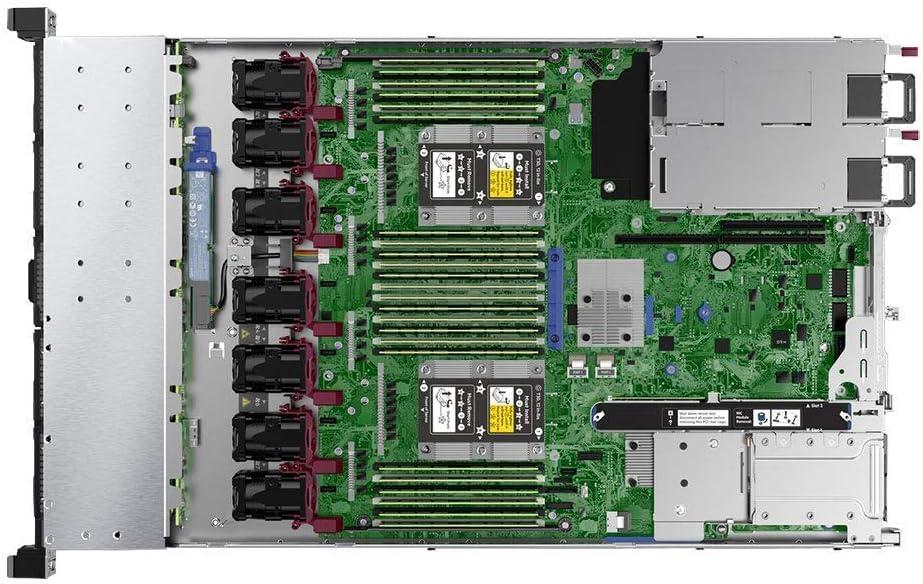 Rail HP ProLiant DL360 Gen 10 Business Server Computer 2 x Intel Silver 4110 8 Core CPUs 3 Years Warranty 64GB RAM 7.2TB Enterprise SAS HDDs DL360G10, 64GB, 7.2TB SAS HDD RAID