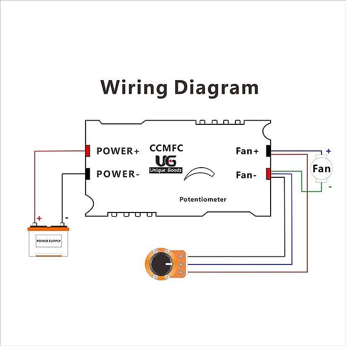 Ac Fan To Potentiometer Wiring - Wiring Diagrams Ac Potentiometer Wiring on
