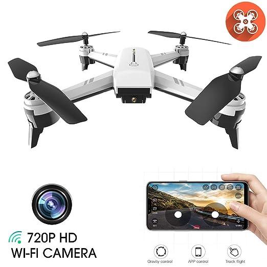 Drone con HD 1080P WiFi Cámara FPV Drone con Modo Sin Cabeza ...