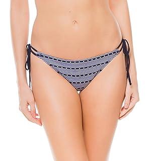 d8ff991e24 Amazon.com  Miss Mandalay Cabana Halter Bikini Top  Clothing