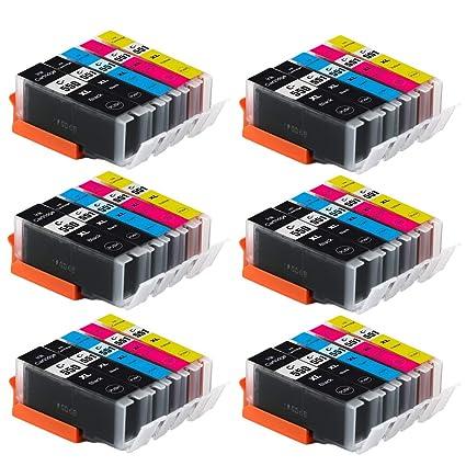 30 PGI-550/CLI-551 impresora Compatible Cartuchos de tinta ...
