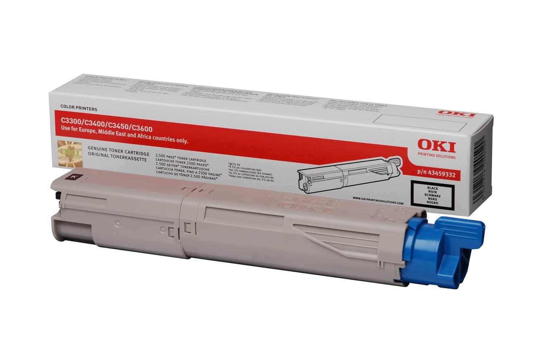 Oki - Toner Oki C33/C34/C3450/C3600-Negro 2,5P: Amazon.es: Electrónica