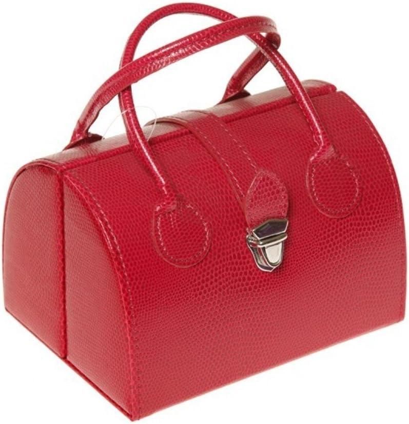 Joyero-Bolso de mano, color fucsia-Sema design