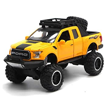 781641ba3832 Amazon.com  Siyushop Pickup Truck Model Big Tire Buggy Toy Car Model ...