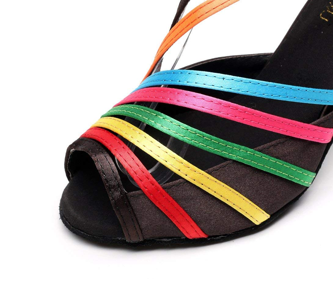 HhGold Lateinamerikanische Tanzschuhe für Damen Salsa Salsa Salsa Tango Chacha Samba Modern Jazz Tanzsandalen High Heelsdiy DHeeled7.5cm-UK4.5   EU36   Our37 (Farbe   Cheeled7.5cm Größe   UK4 EU35 Our36) 046455