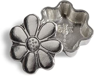 product image for Crosby & Taylor Daisy and Dragonfly Tiny Pewter Sentiment Box