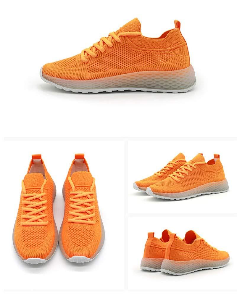 ZHIJINLI Sportschuhe, Gelegenheitsschüler, Einzelschuhe, Fliegende gewebte gewebte gewebte weiße Schuhe, Netzschuhe, Größe 6,5  bb95b6