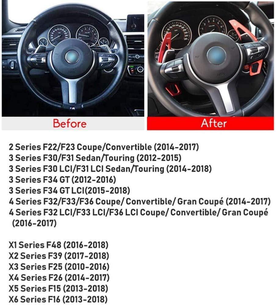 F30 F3 per BMW 2 3 4 X1 X2 X3 X4 X5 X6 Series XLTWKK Estensioni del Cambio a Palette Volanti in Alluminio ricavati dal Pieno con billette CNC