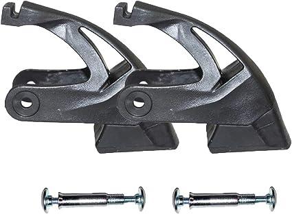 Skates Brakes Frame Brake Pad Inline-Brake Stopper with Screws for WEIQIU 9266