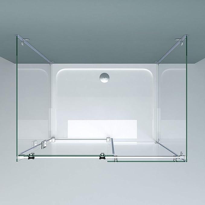 doporro Cabina de ducha en forma de U diseño Ravenna17-2 ...