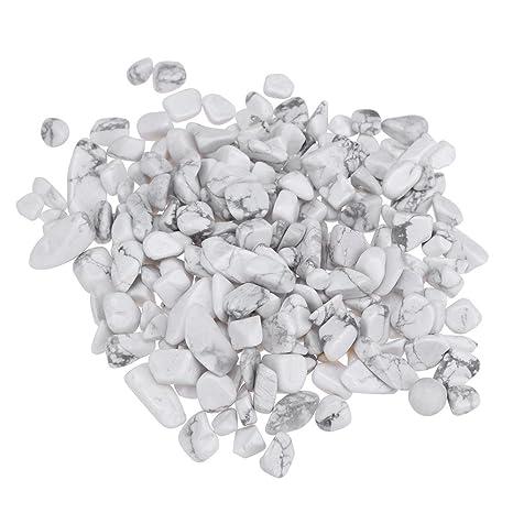VIPEco 100 g blanco turquesa Gravel a granel casa pecera maceta de flores decoración de minerales