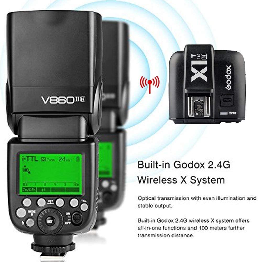 Godox Ving V860ii N 2 4g Flash Speedlite With Ttl Camera Photo