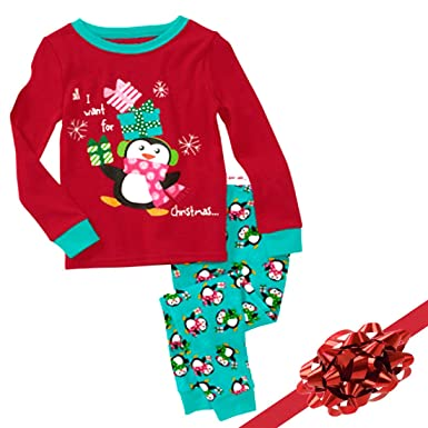 "Holiday Fun, Christmas Pajama Set ""Christmas Wishes"" ..."