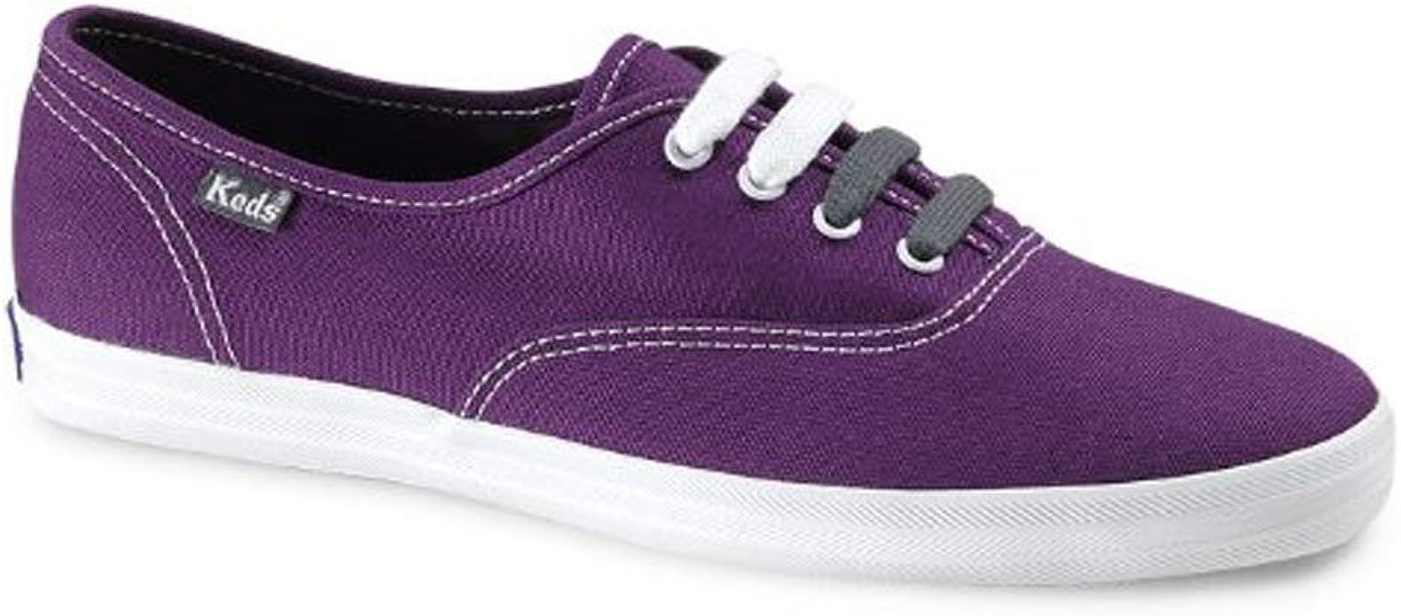 Champion Purple Canvas Shoes Wide Width