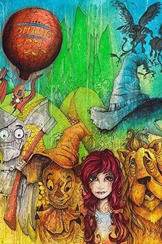 Fantasy Wizard of Oz Group by Sean Dietrich 36x24 Movie Art