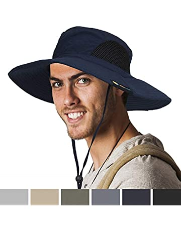 6947d698 Sun Cube Premium Boonie Hat | Wide Brim Adjustable Chin Strap | Outdoor  Fishing, Hiking