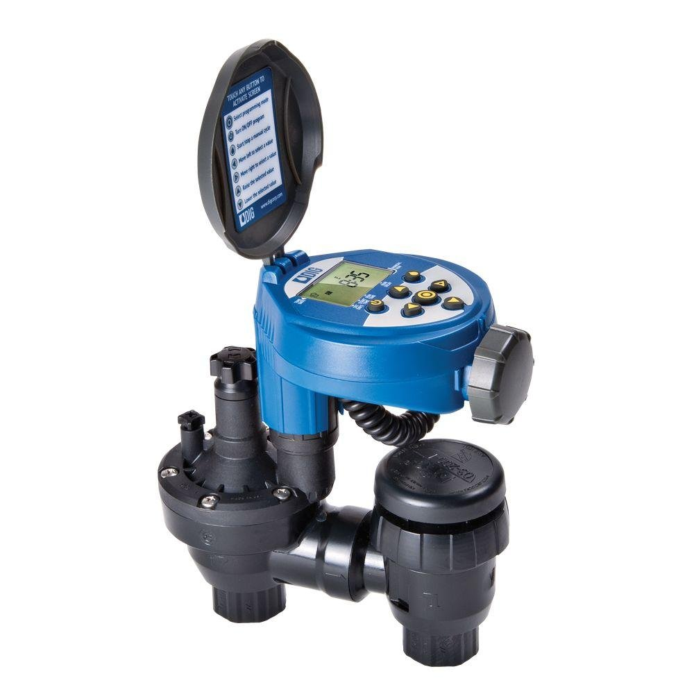 DIG RBC8000 Battery Powered Digital Controller with 3/4'' Anti-Siphon Valve