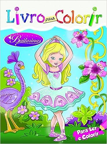Bailarinas Livro Para Colorir Livros Na Amazon Brasil