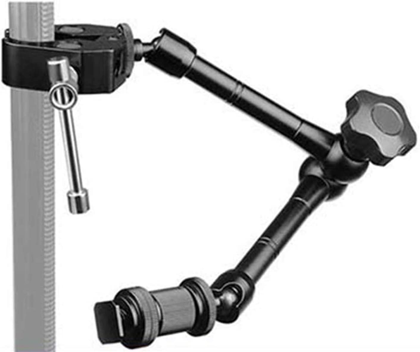 Semoic Magic Arm with Super Clamp 11 Articulating Friction Crab Clamp with 1//4 and 3//8 Thread for DSLR Camera Rig Monitor,Led Lights and Flash Light