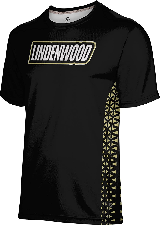 Geometric ProSphere Lindenwood University Mens Performance T-Shirt