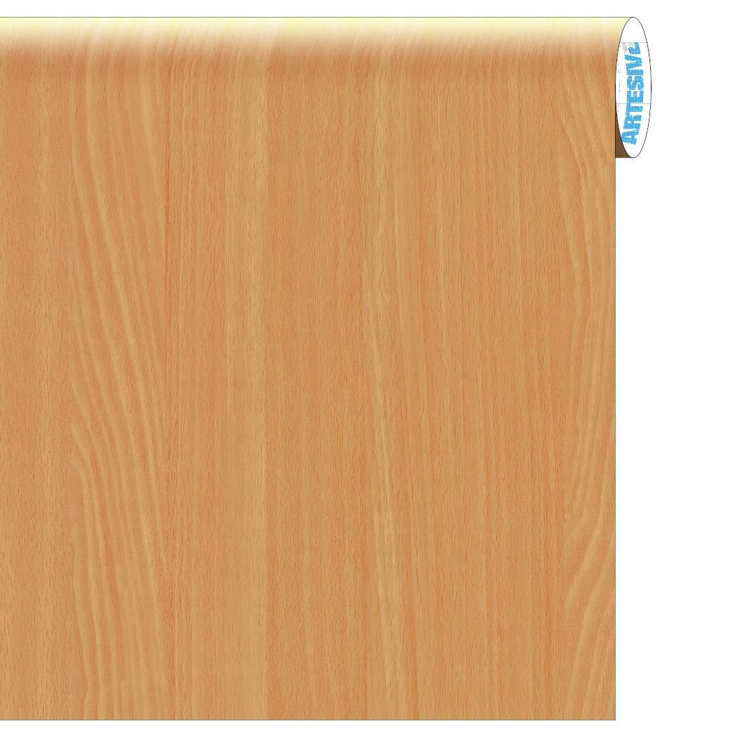 ARTESIVE WD-034 Haya Clara Mate 30 cm x 5 MT. - Película Adhesiva