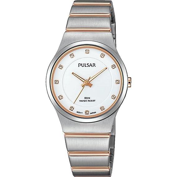 Pulsar reloj mujer PH8173X1: Amazon.es: Relojes