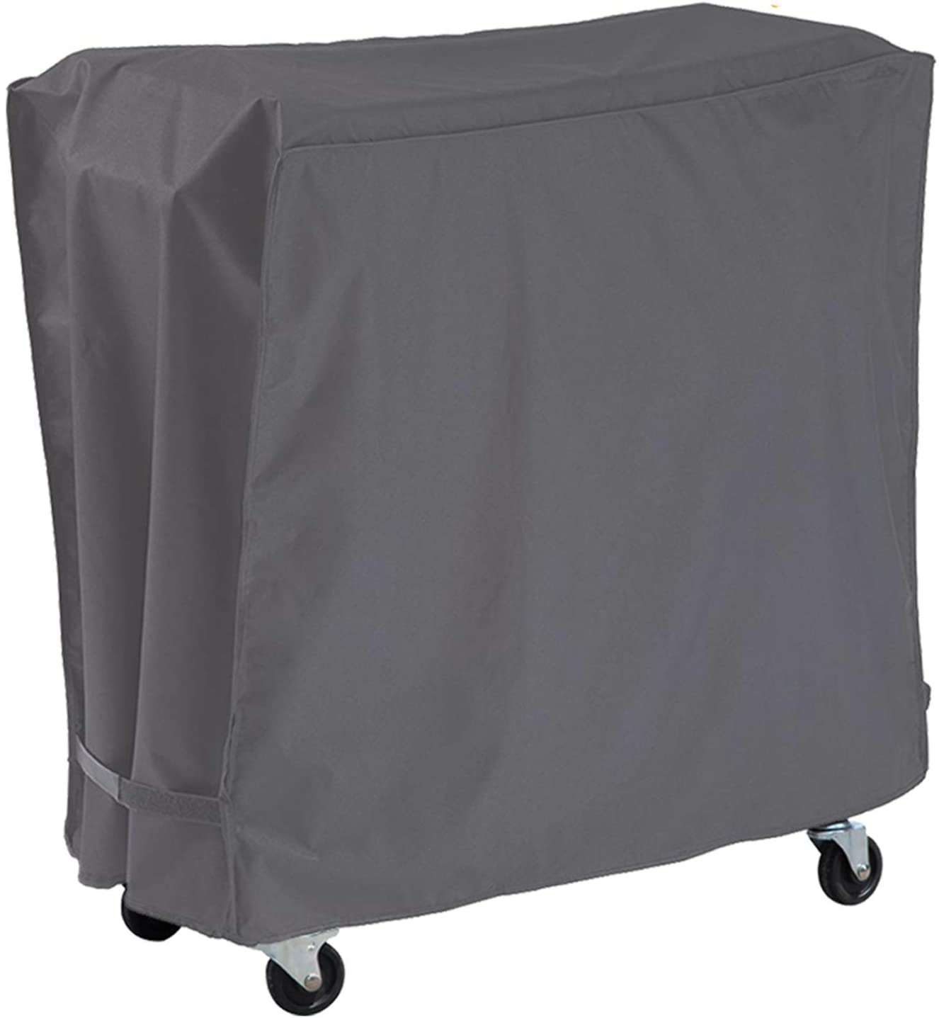 Patio Cooler Cart Cover Waterproof Dustproof UV Resistant Outdoor Ice Chest Rolling Cart Cover for Party BBQ Protective Cooler Cover Fit 80/100 QT