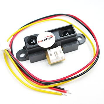 1 pieza GP2Y0A21YK0F infrarrojos Sensor de proximidad GP2Y0A21 filosas Sensor de distancia: Amazon.es: Electrónica