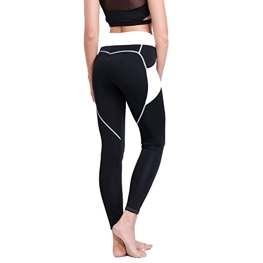 1fc49967ded89 RIOJOY Yoga Pants for Women,Patchwork Sweety Heart Butt Lifting Fitness  Compresison Leggings Dry Fit